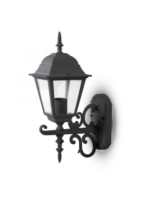 Wall Lamp Small Matt Black Up