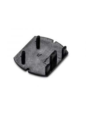 Track End Cap Black