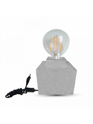 Concrete Body table lamp Diam: 160 with E27 base