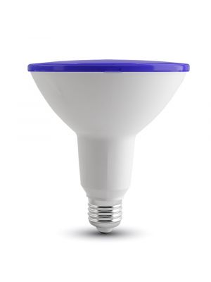 LED Bulb - 15W PAR38 E27 IP65 Blue - NEW