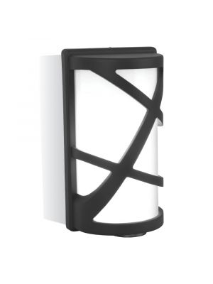 Wall Lamp E27 Matt Black - NEW